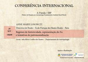 Conferencia Anne Marie Losonczy